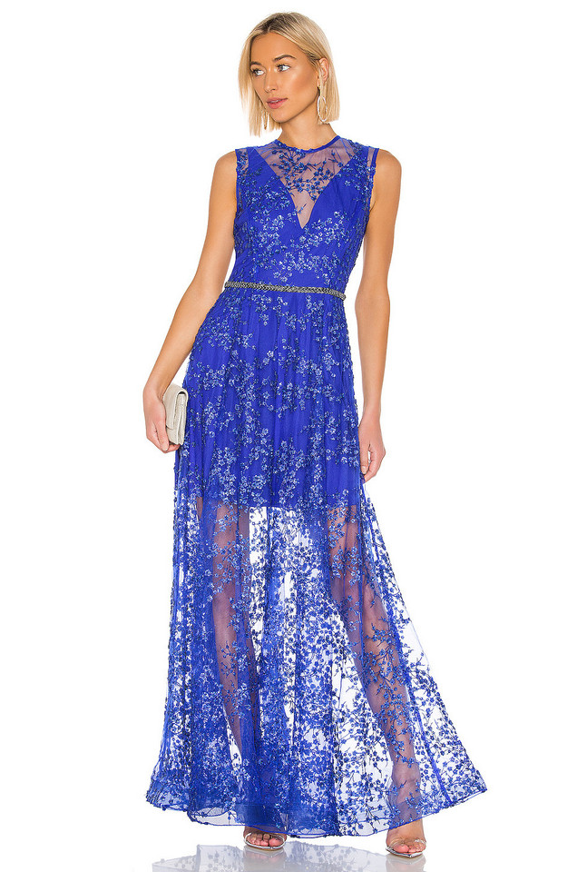 Bronx and Banco Olympia Gown in blue