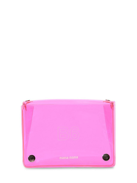 NANA NANA B6 Pvc Crossbody Bag in pink