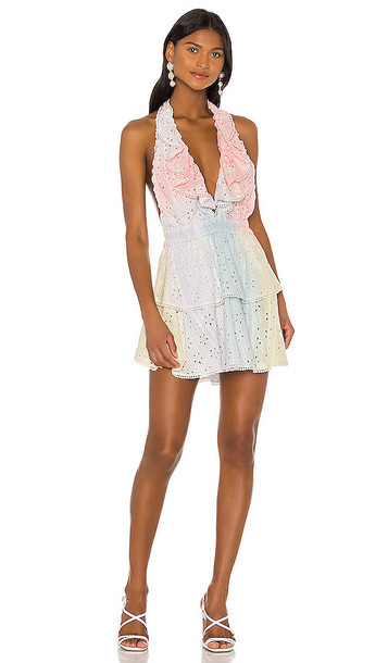 LoveShackFancy X REVOLVE Carlisle Dress in Pink