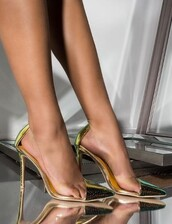 shoes,pvc pumps,high heel stiletto heels,pointed toe pumps,party shoes,evening shoes