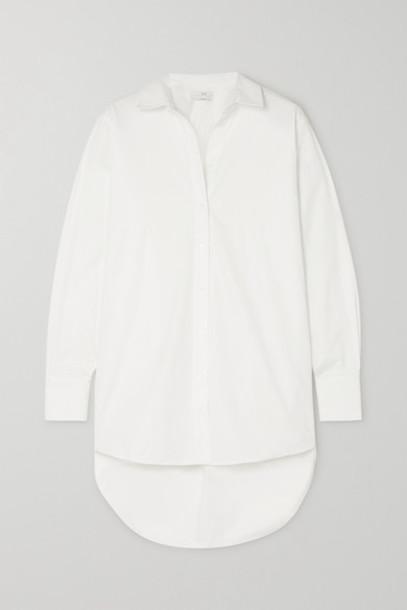 Co - Cotton-poplin Shirt - White