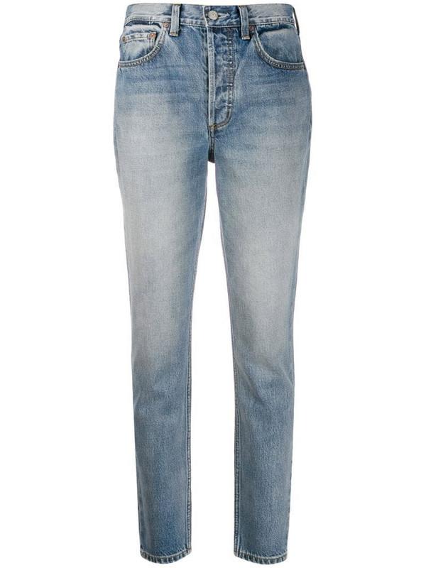 BOYISH DENIM denim Billy high rise jeans in blue