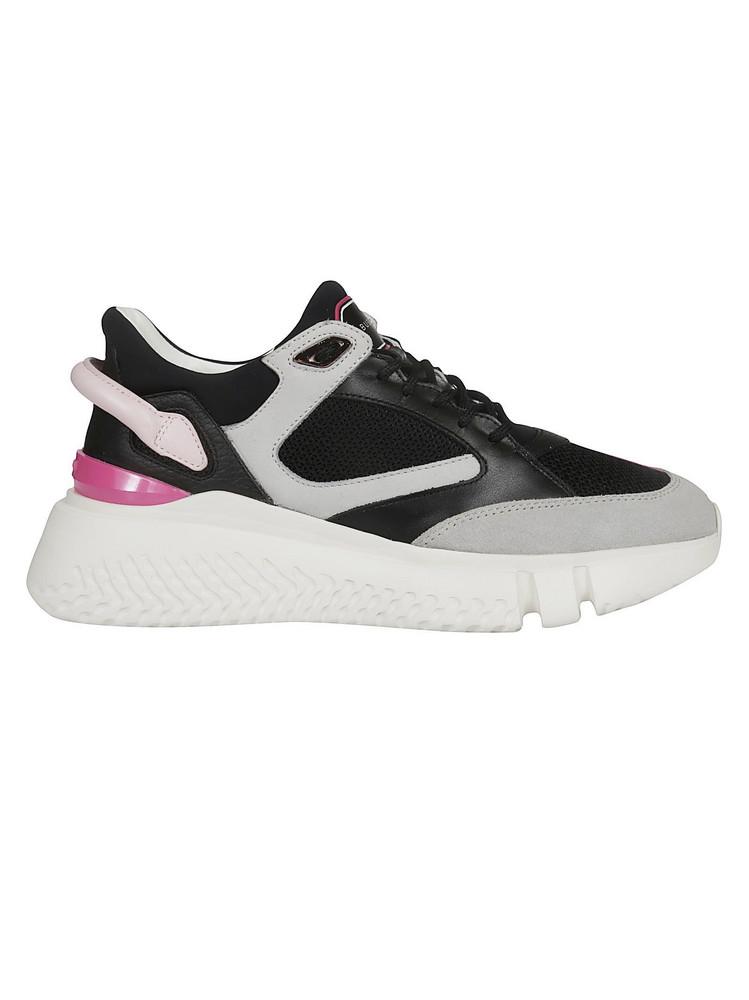 Buscemi Veloce Mid Sneakers in black