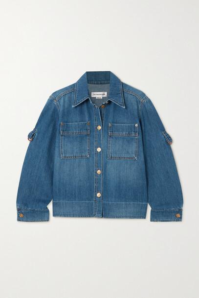 Victoria Beckham - Denim Shirt - Blue