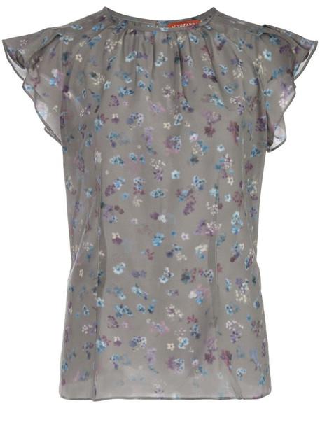 Altuzarra Namika top in grey