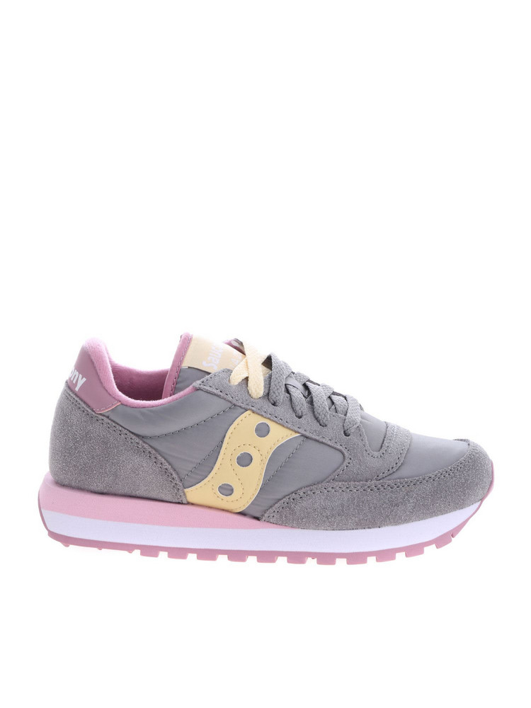 Saucony Jazz Original Sneakers in grey / pink