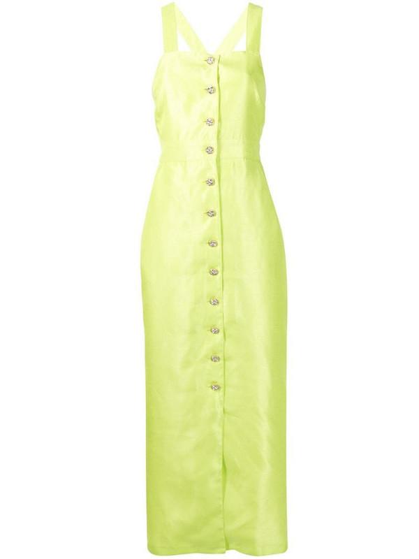 Alice McCall Dance Dance noil dress in green