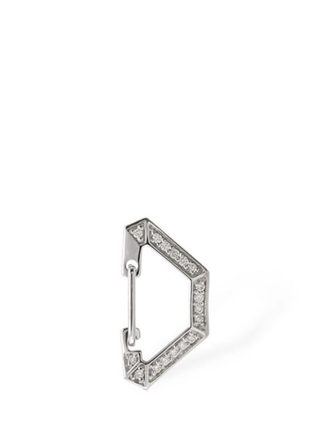 EÉRA Milano 18kt Gold & Diamond Mono Earring in silver