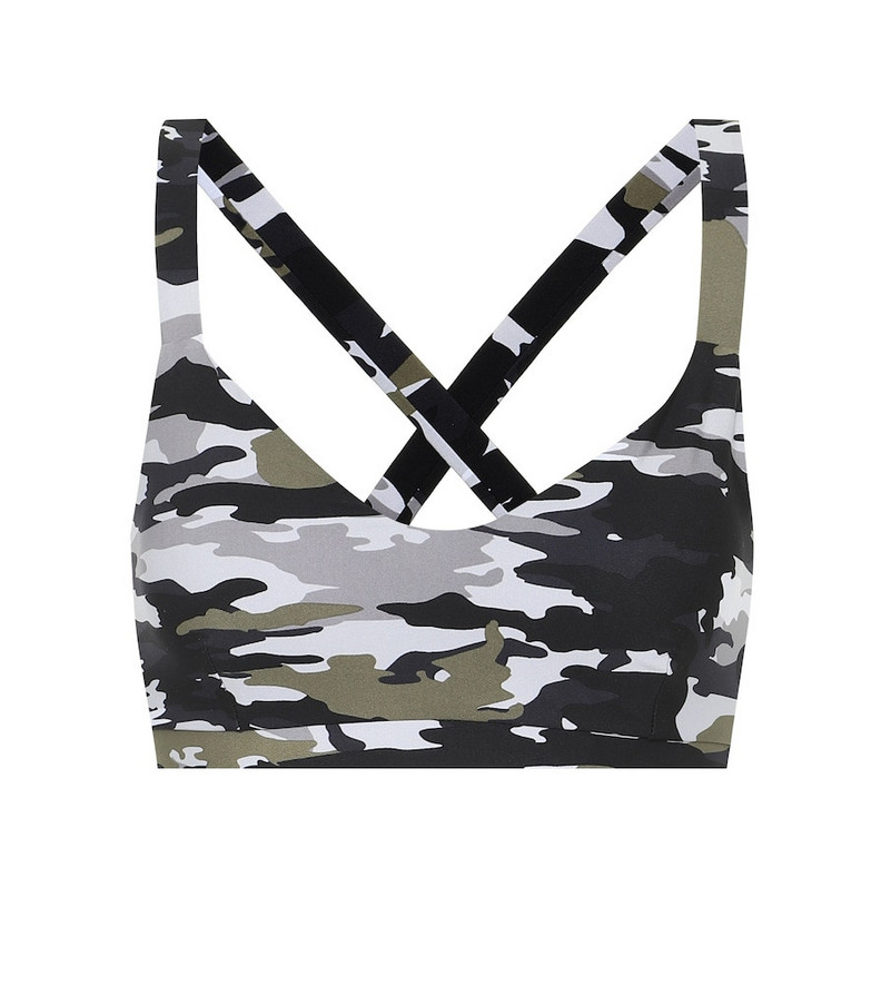The Upside Sophie camo-print sports bra