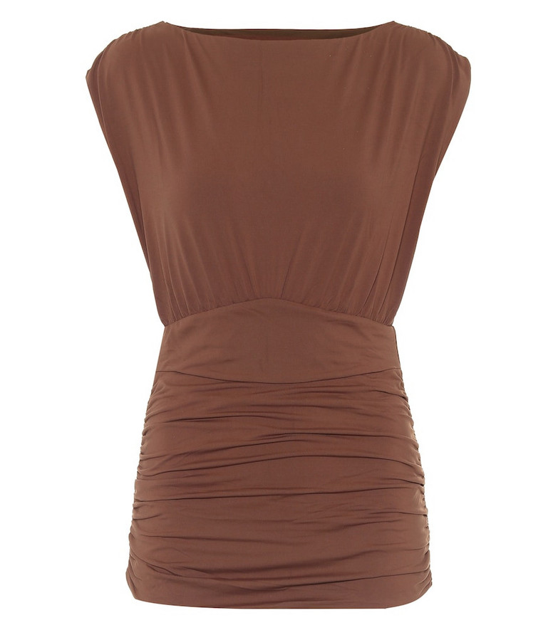 Marysia Solana swimsuit in brown