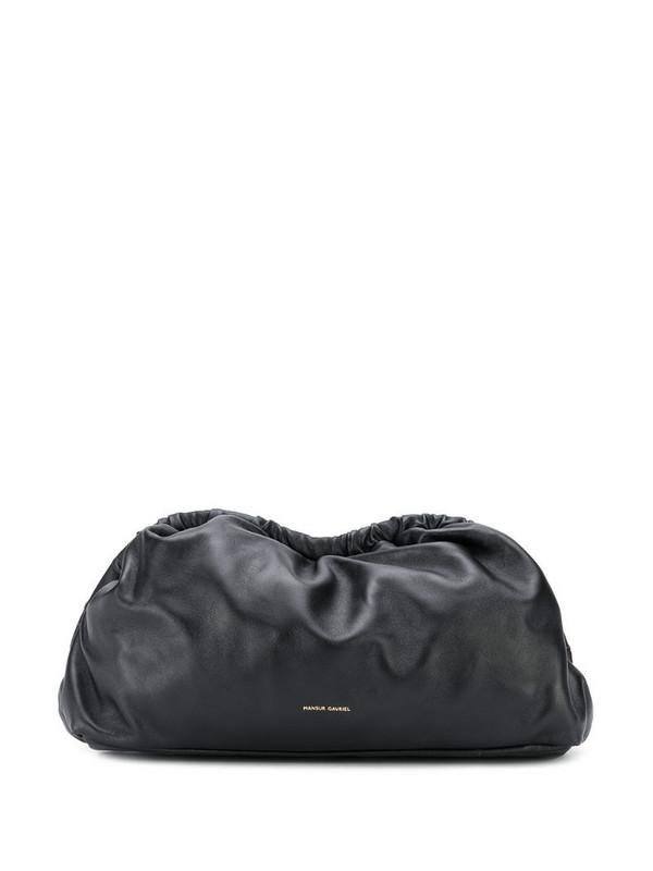 Mansur Gavriel Cloud clutch in black
