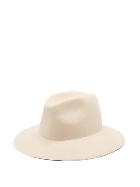Reinhard Plank Hats - Beghe Felt Hat - Womens - Cream