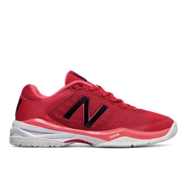New Balance 896 Women's Tennis Shoes - Red/Pink/White (WC896RC)