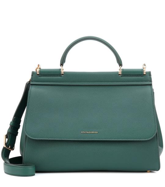 Dolce & Gabbana Sicily Soft Medium shoulder bag in green