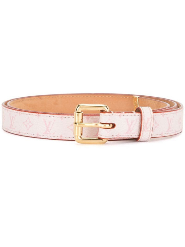 Louis Vuitton 2003 pre-owned Cherry Blossom Ceinture belt in pink