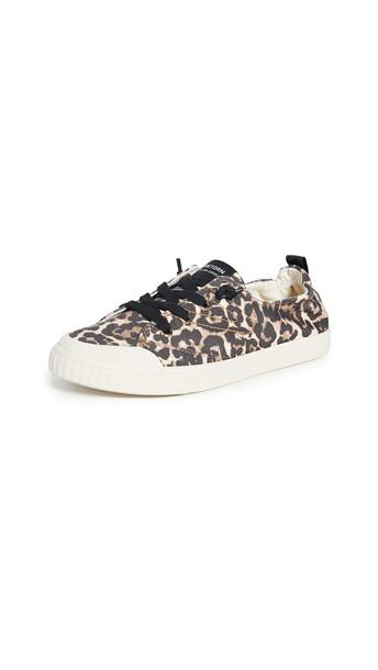 Tretorn Meg Sneakers in black / camel / multi