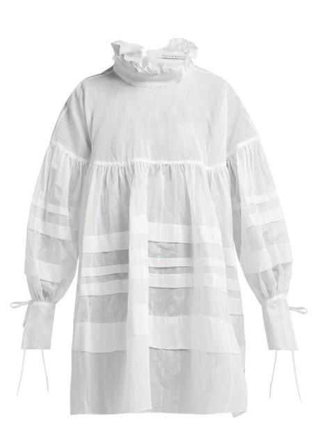 Cecilie Bahnsen - Alberte Taffeta Dress - Womens - White