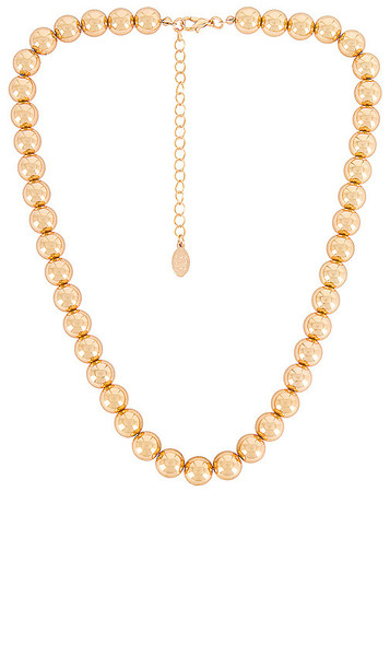 8 Other Reasons Shae Necklace in Metallic Gold