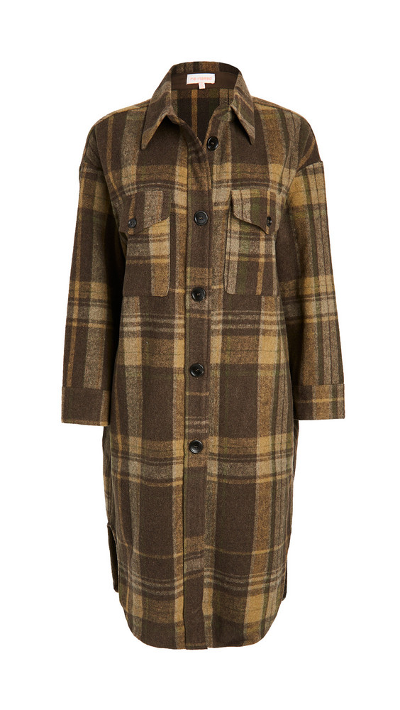 re:named re: named Plaid Long Jacket in multi