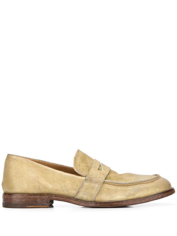 Moma Nottingham 20mm loafers in gold