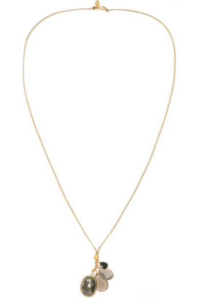 Pippa Small - 18-karat Gold Multi-stone Necklace