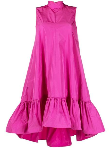 RED Valentino halterneck sleeveless dress in pink