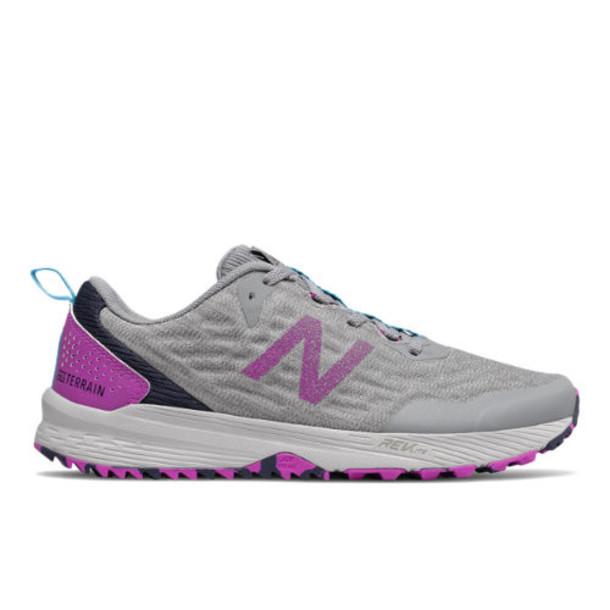 New Balance NITREL v3 Women's Shoes - Grey/Purple (WTNTRCV3)