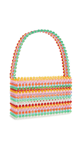 Susan Alexandra Sour Straw Bag in multi