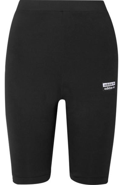 adidas Originals - Stretch-jersey Shorts - Black