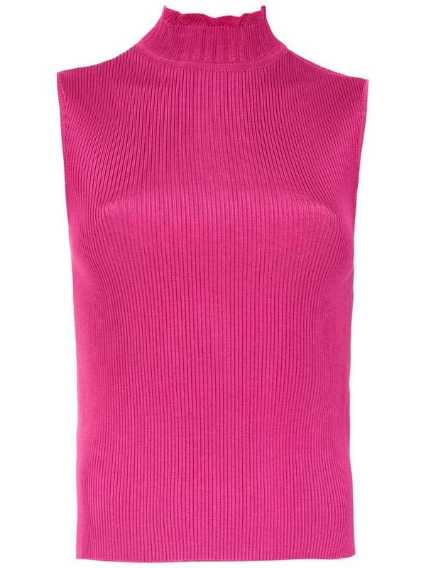Olympiah Nika high neck top in pink