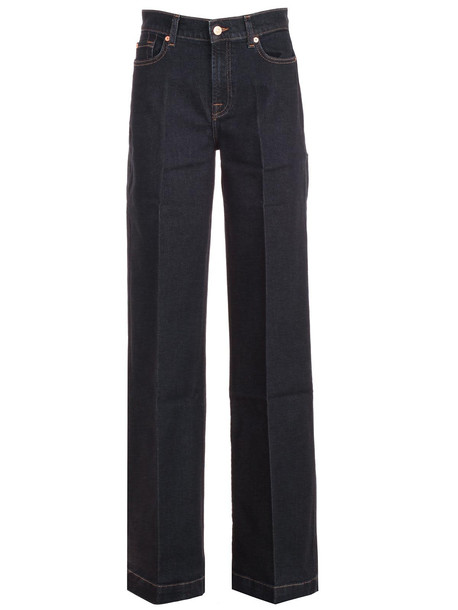 7 For All Mankind Jeans Blue Flared