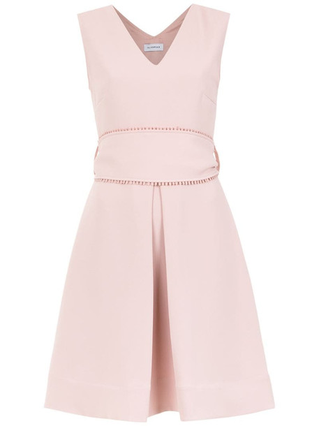 Olympiah Rosello belted dress in pink