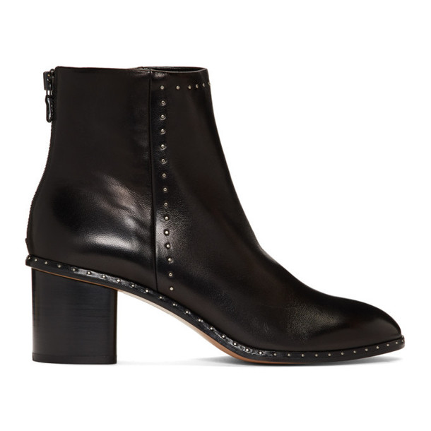 rag and bone Black Willow Stud Boots