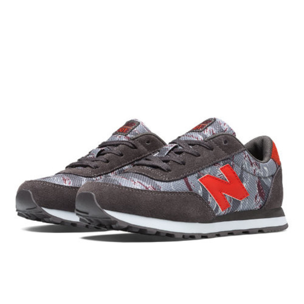 New Balance Camo 501 Kids Grade School Lifestyle Shoes - Brown, Red (KL501TDY)