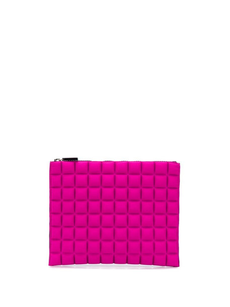 No Ka' Oi geometric pattern purse in pink