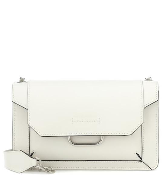 Isabel Marant Skamy leather shoulder bag in beige