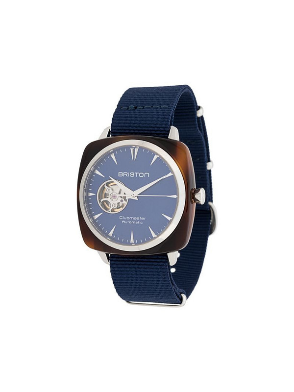 Briston Watches Clubmaster Iconic 40mm watch in blue