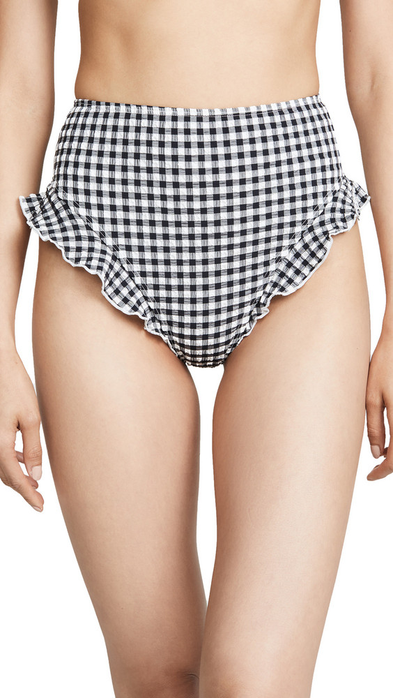 Solid & Striped The Lana Bikini Bottoms in black