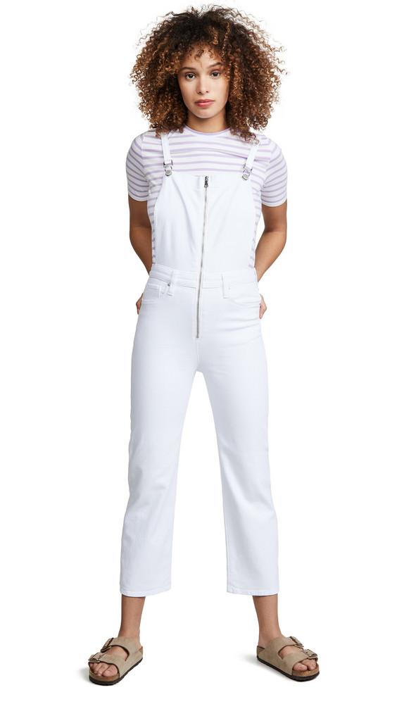 Hudson Avalon Overalls in white