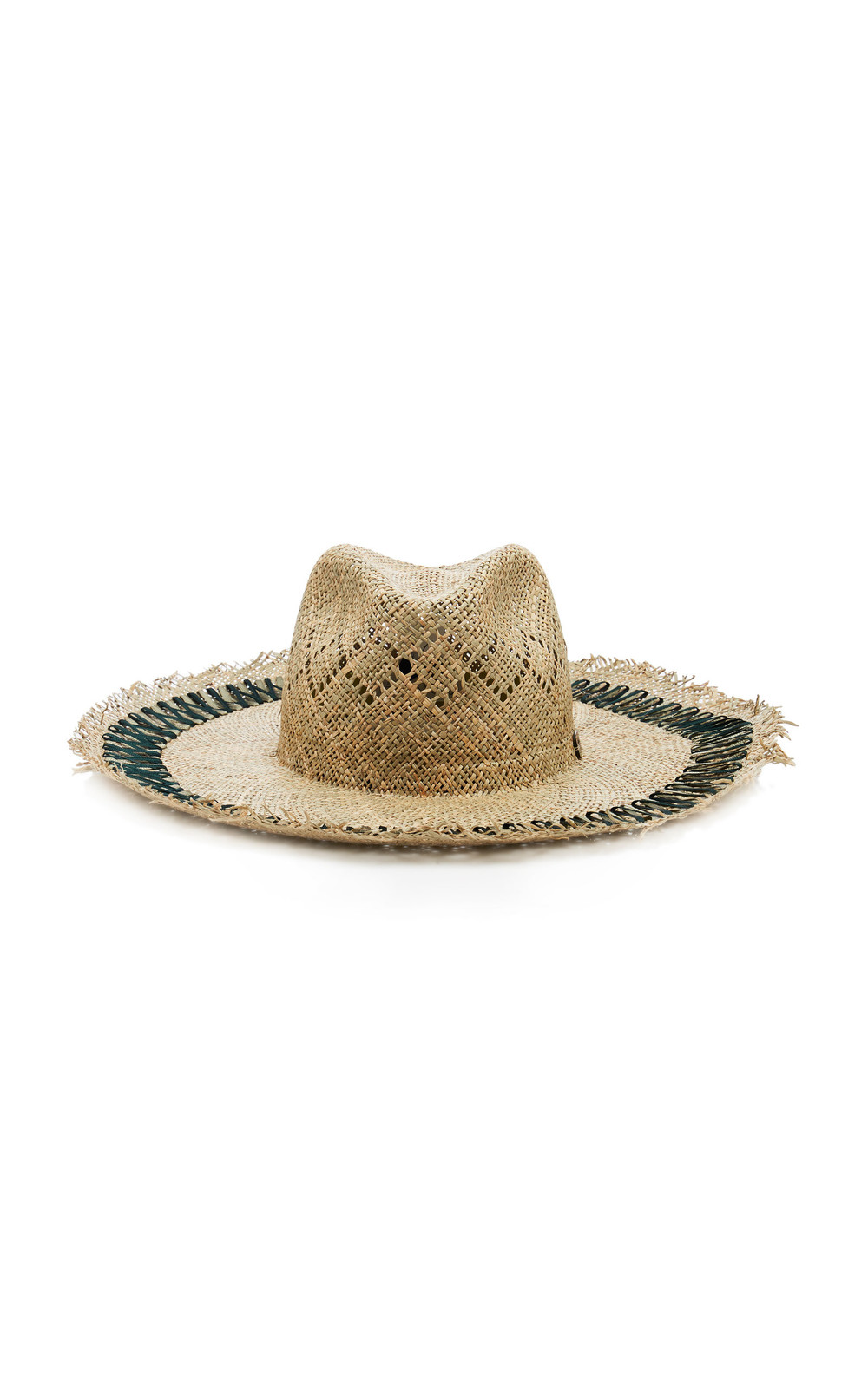 Filu Hats Capri Forest Straw Hat in green
