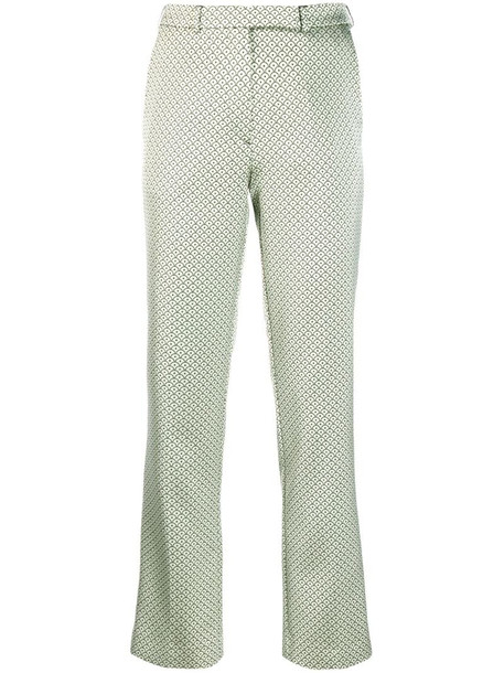 Etro cropped trousers in neutrals