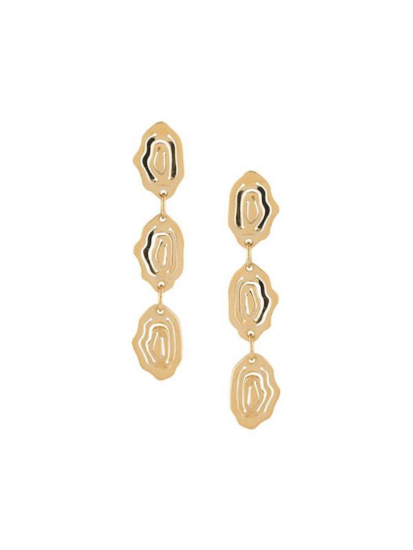 KAY KONECNA Elena drop earrings in gold