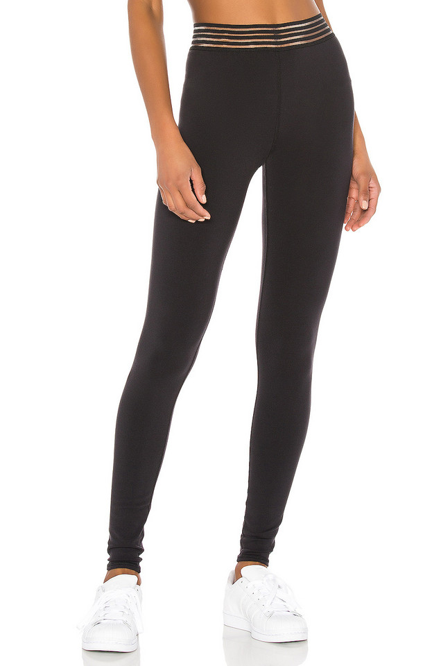 alo High Waist Gaze Legging in black
