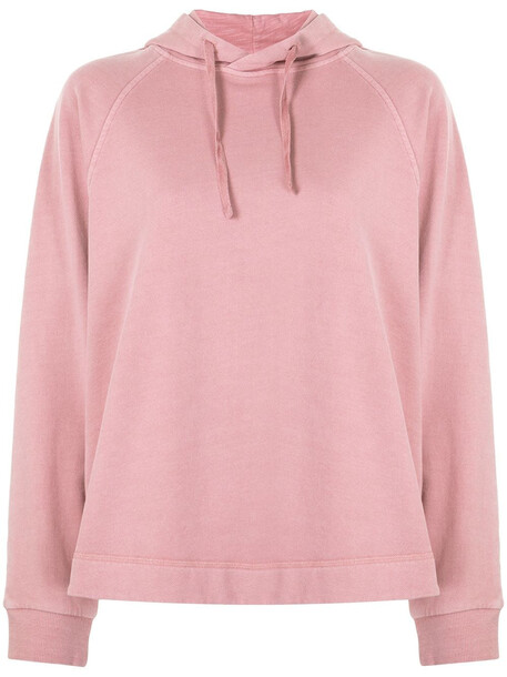 YMC classic drawstring hoodie - Pink