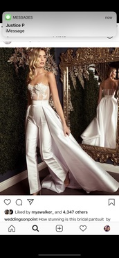 jumpsuit,wedding