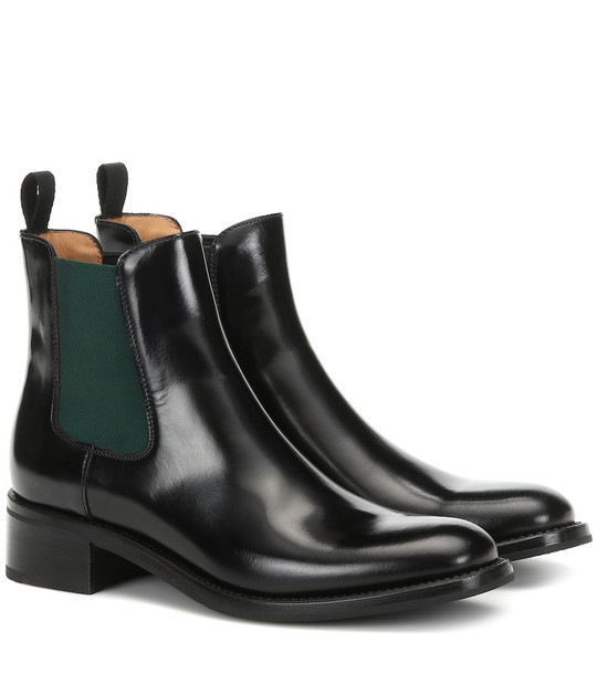 Church's Monmouth patent leather ankle boots in black