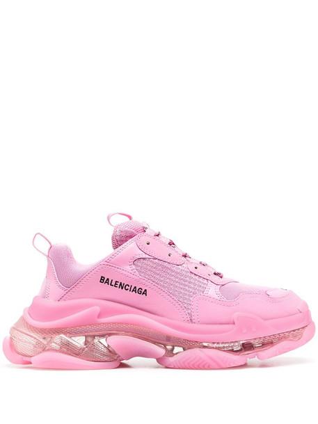 Balenciaga Triple S sneakers in pink