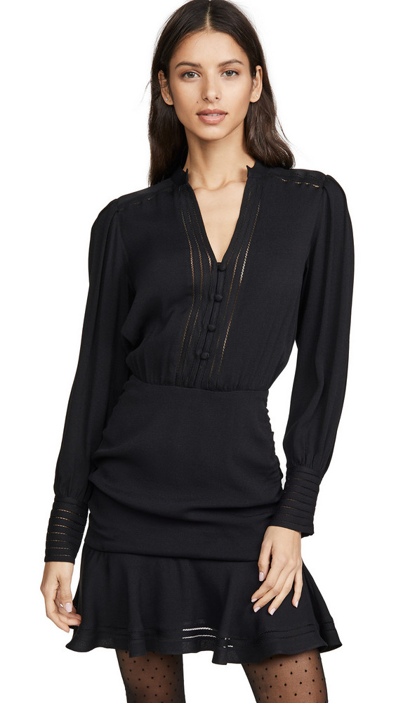 Veronica Beard Jasper Dress in black