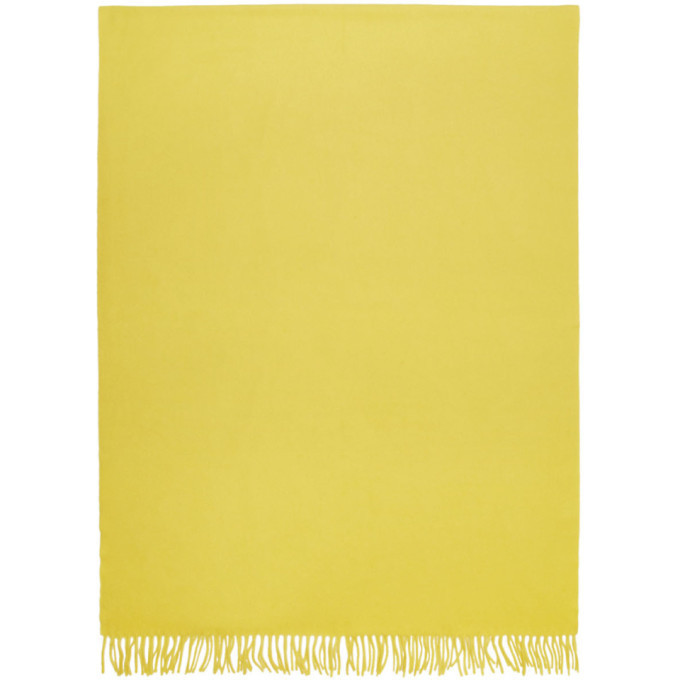 A.P.C. A.P.C. Yellow Poslka Scarf