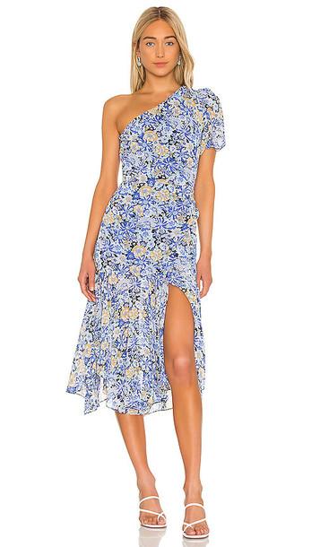 ASTR the Label Santorini Dress in Blue